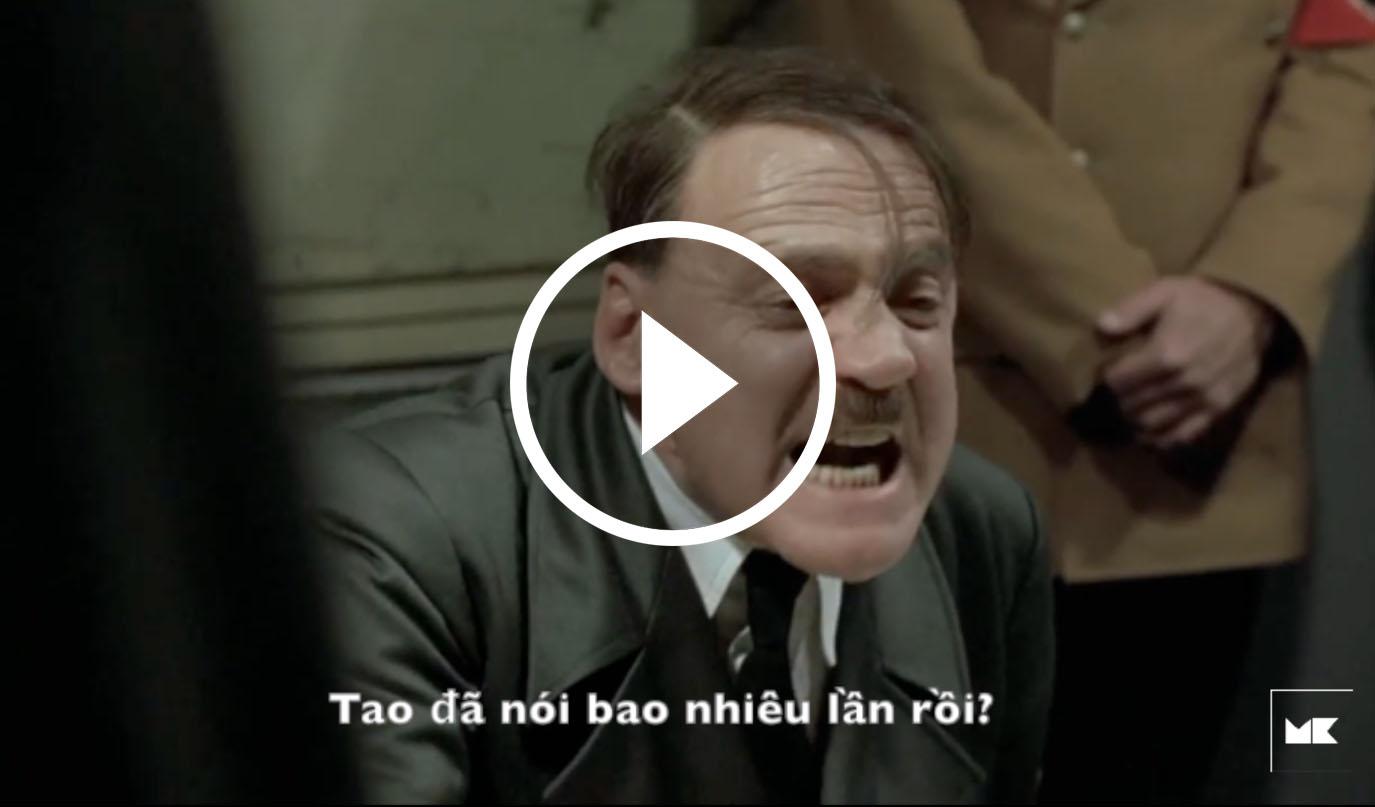 Video hài: Khi Hitler mở xưởng làm mộc