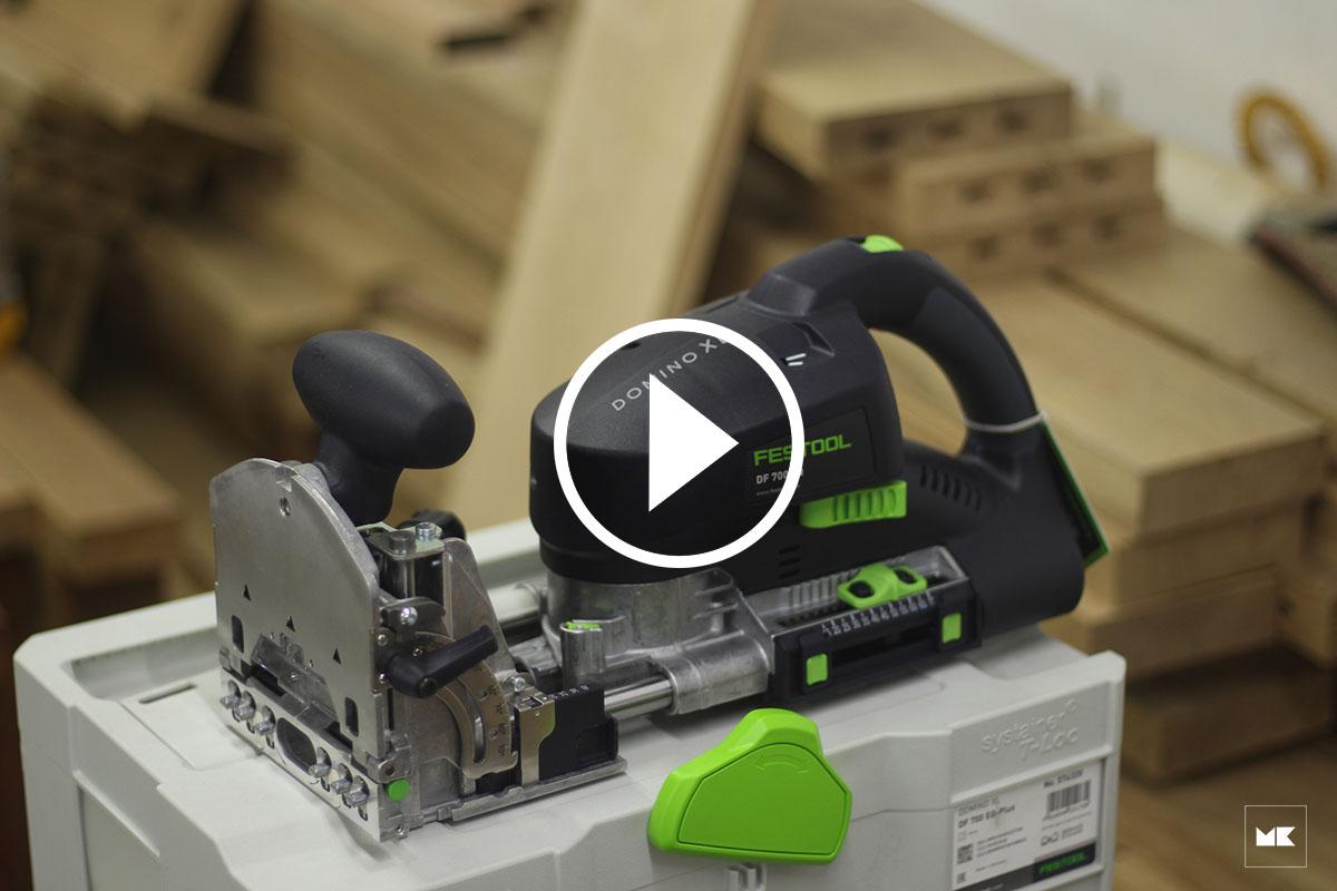 Đập hộp Festool Domino XL DF700