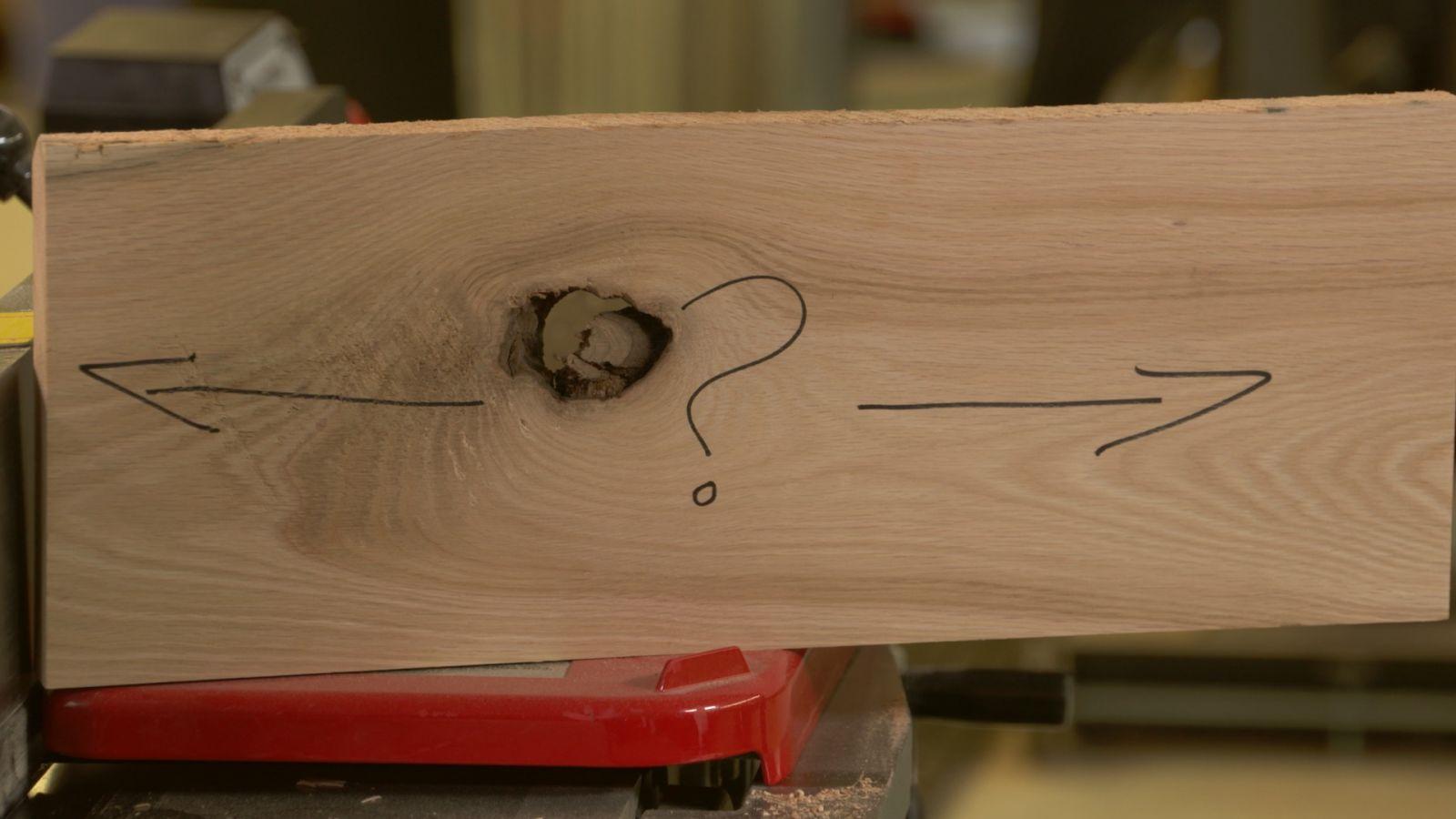 Cách xác định thớ gỗ: bào gỗ không bị xơ bề mặt