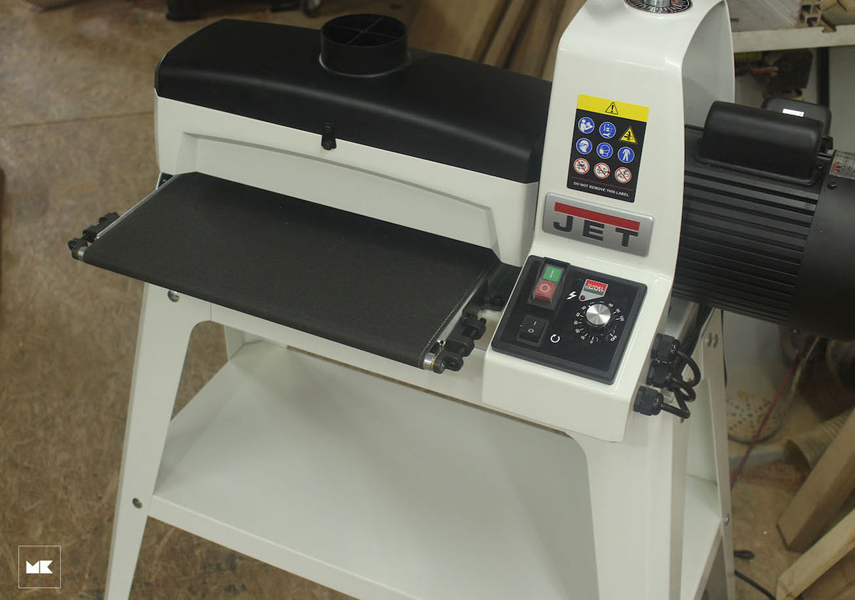 Đánh giá máy chà nhám thùng JET JWDS 16-32